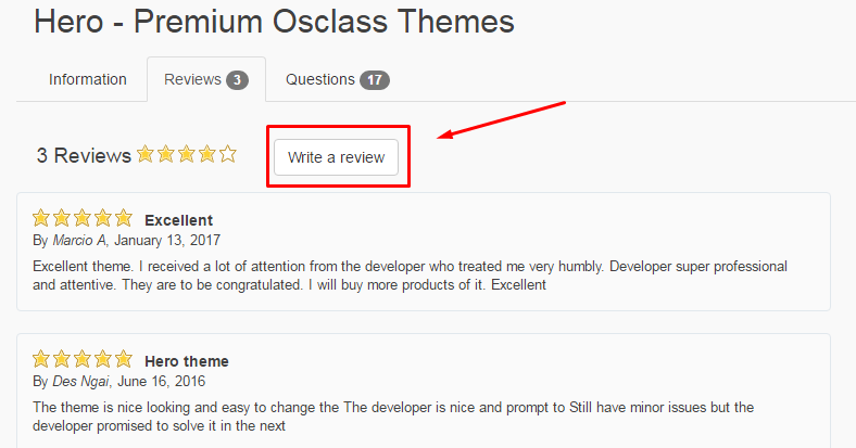 osclass themes premium